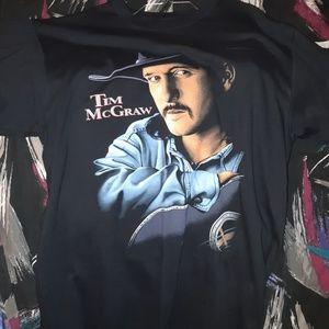 Vintage Tim McGraw turbo tonkin tee